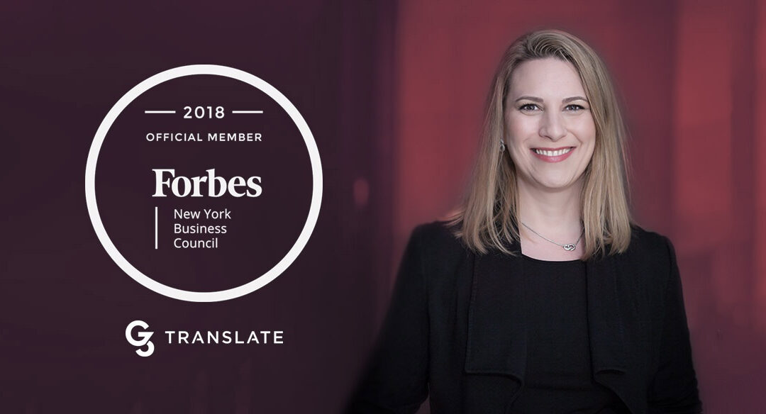 G3 Translate and Forbes