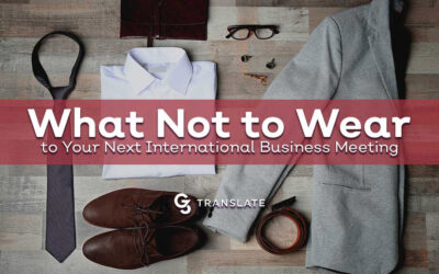 What Not to Wear to Your Next International Business Meeting