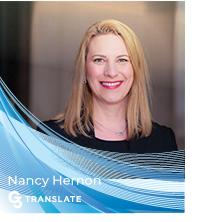 Nancy Hernon of G3 Translate